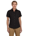 Ladies Barbados Textured Camp Shirt