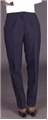 Ladies 70% Polyester/30% Wool Tailored Front Pant