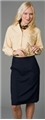 Ladies 100% Polyester Pencil Skirt