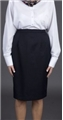 Ladies 70% Polyester/30% Wool Classic Straight Lined Skirt