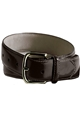 Unisex Smooth Leather Dress Belt