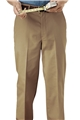 Men's PolyCotton Flat Front Chino Pant