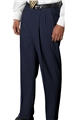 Men's 55/45 PolyWool Pleated Front Pant