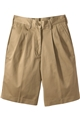 Ladies Pleated Front Utility Short