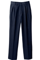 Ladies Pleated Front 70/30 PolyWool Pant