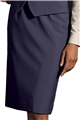 Ladies Straight 55/45 PolyWool Skirt
