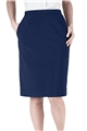 Ladies Polyester Straight Skirt