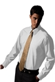 Men's Long Sleeve Pinpoint Shirt - Point Collar