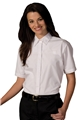 Ladies Short Sleeve Café Shirt