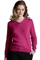 Ladies Cotton Cashmere V-Neck Cardigan