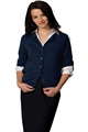 Tuff-Pil® Ladies Jewel Neck Acrylic Cardigan
