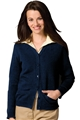 Tuff-Pil® Ladies Acrylic Cardigan Sweater w/Pockets