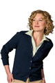 Tuff-Pil® Ladies Acrylic Cardigan-No Pockets
