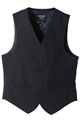 Men's High Button 55/45 PolyWool Vest