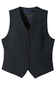 Ladies High Button 55/45 PolyWool Vest