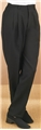 Ladies Pleated Tuxedo Trouser