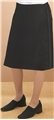 Ladies Mid Length Tuxedo Skirt