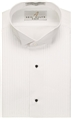 Men's Wing Collar Tuxedo Shirt w/1/4 Pleats