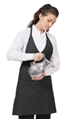 V-Neck Tuxedo Apron With 2 Division Pockets