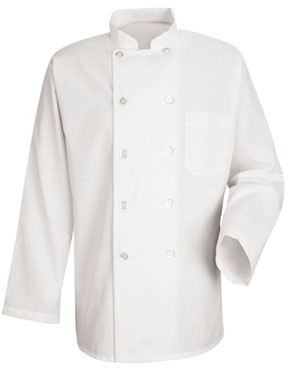 10 Button Chef Coat w/PCA LOGO