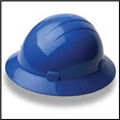 Americana Full Brim Style Slide-Lock Safety Helmet