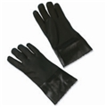 Black PVC Double Dipped Work Glove