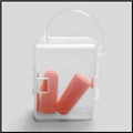 Vial with Uncorded Foam Disposable Ear Plug