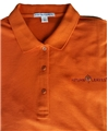 ......Women's AUTUMN LEAVES Polo...... TX Orange