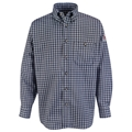 Men's Plaid Uniform Shirt (HRC1)