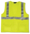 ANSI Class 2 Flame Resistant Velcro Vest with 4 Pockets