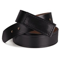 No Scratch Leather Belt
