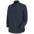 Men's Upgraded Long Sleeve PolyCotton Security Shirt