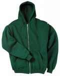 S2442 Champion 50/50 Full Zip Hooded Fleece