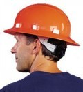 Certified Omega II® Full Brim Mega Ratchet® Safety Helmet