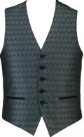 Men's Jacuard Wave Vest