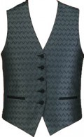 Ladies Full Back Wave Vest