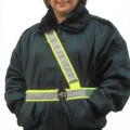Adjustable Safety Belt with Silver Scotchlite® Reflective Tape