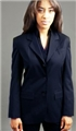 Ladies 70% Polyester/30% Wool 3 Button Fashion Blazer