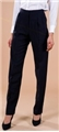 Ladies 70% Polyester/30% Wool Low Rise Fashion Pant