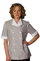 Ladies Grey Junior Cord Housekeeping Tunic
