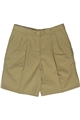 Ladies Pleated Chino Short