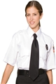 Unisex Short Sleeve Polyester Security Shirt