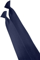 Men's Solid Security Clip-on Tie