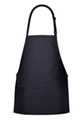 Bib Apron With 3 Division Pockets