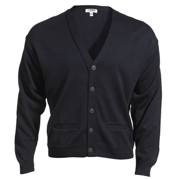 Tuff-Pil® Acrylic Cardigan Sweater w/Pockets