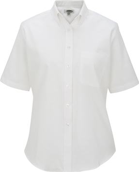 Ladies Easy Care Short Sleeve Oxford Shirt