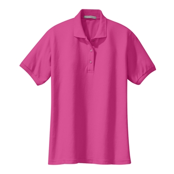 Ladies Silk Touch Pique Polo Shirt