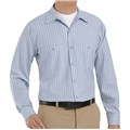 Men's Long Sleeve Stripe Workshirt