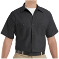 Men's Short Sleeve Poplin Workshirt