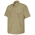 Men's Basic Short Sleeve PolyCotton Security Shirt